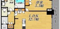 ザ・セントラルマークタワー 2615 1LDK45.61㎡
