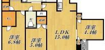 ザ・セントラルマークタワー  3LDK73.52㎡ 1601